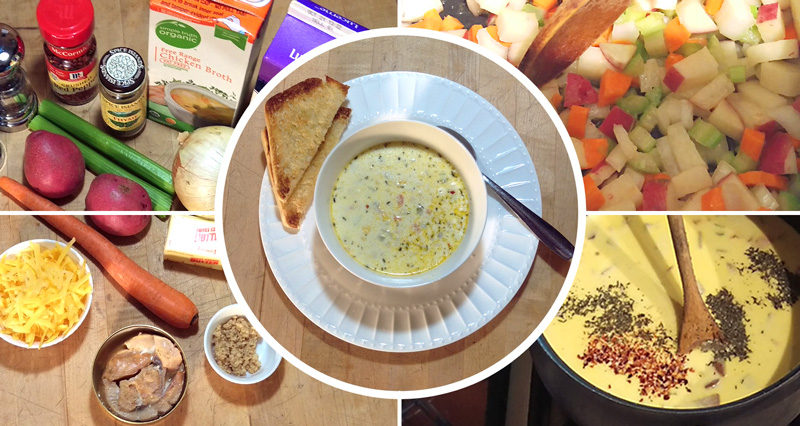 Tuna Guys Salmon Chowder Recipe