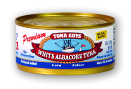 White Albacore Tuna (No Salt)