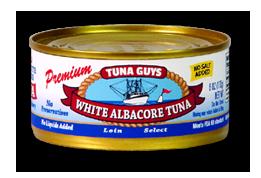 White Albacore Tuna (No Salt)